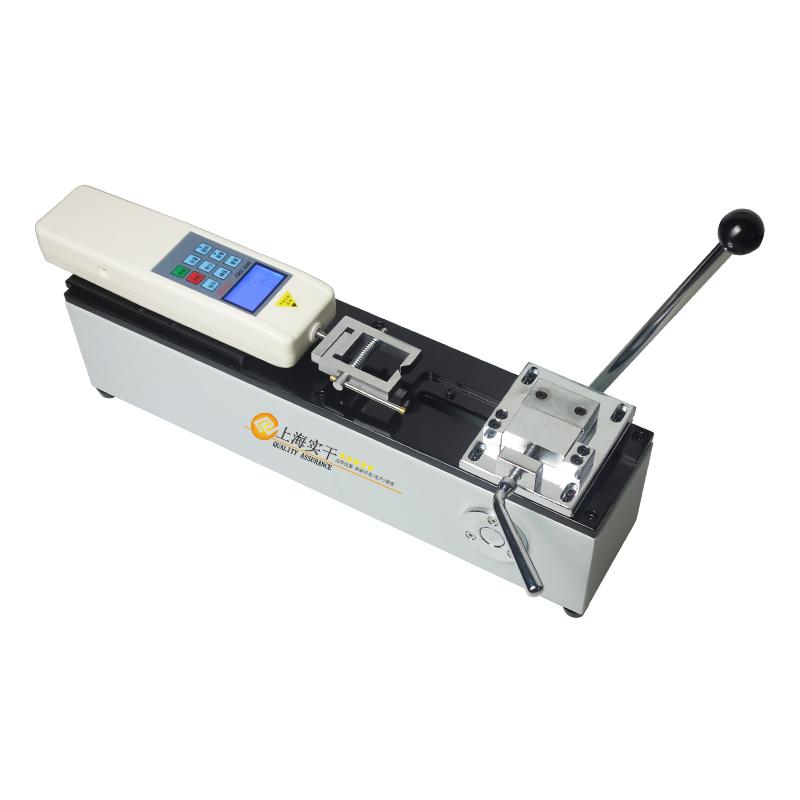 端子拉力测试仪 500N 1000N手动卧式端子拉力试验机厂家