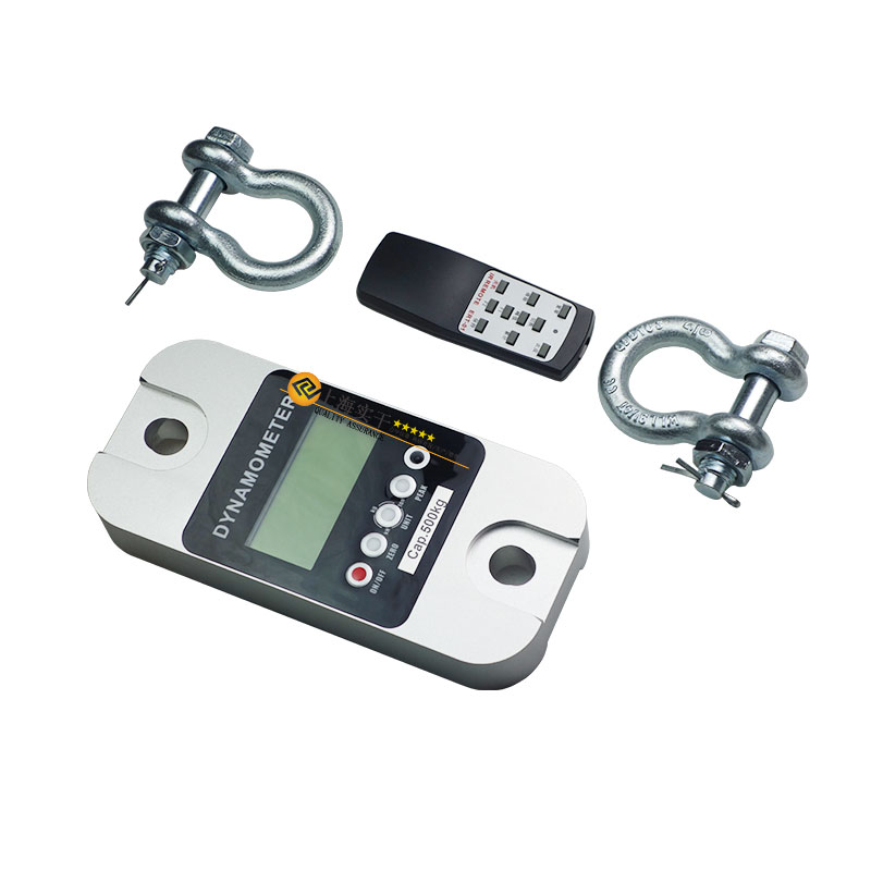 带卸扣环的无线拉力计 0-200T数字无线拉力测试仪 直视无线测力计